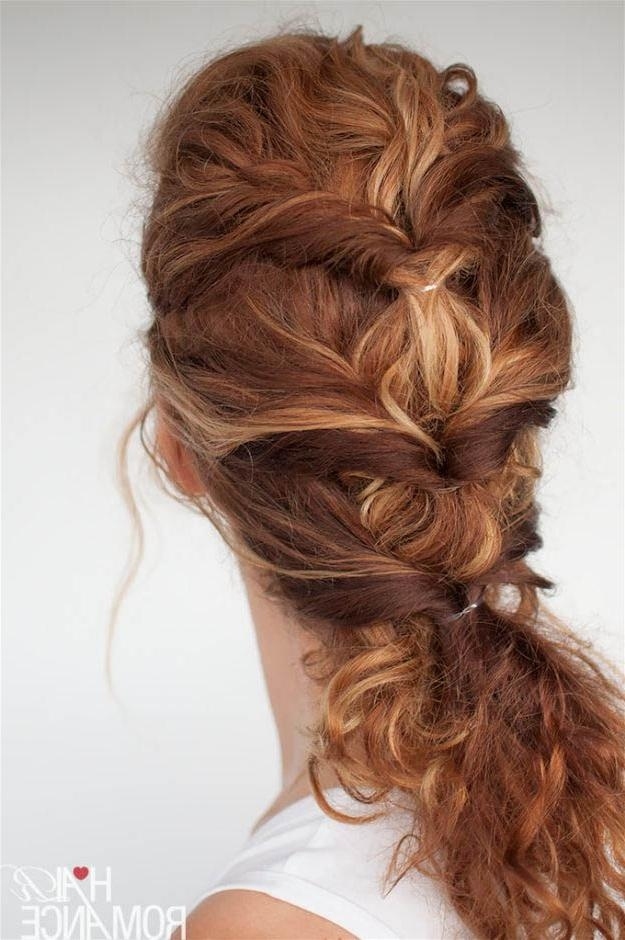 20 Quick And Easy Hairstyles You Can Wear To Work Intended For Quick Long Hairstyles For Work (View 2 of 15)