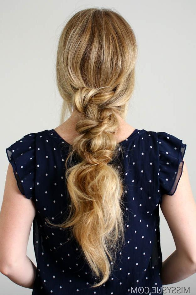 20 Quick And Easy Hairstyles You Can Wear To Work With Long Hairstyles For Work (View 4 of 15)
