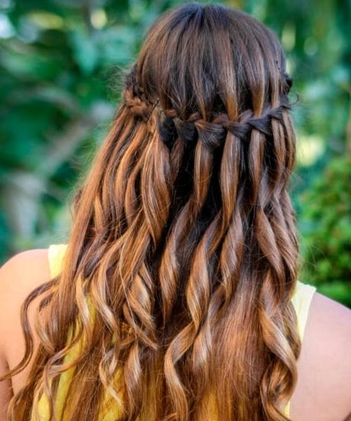 20 Sensuous Hairstyles For Long Thick Hair With Braids For Long Thick Hair (View 2 of 15)