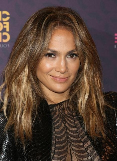 2014 Jennifer Lopez Long Hairstyles: Layered Haircut – Pretty Designs Pertaining To Long Layered Hairstyles Jennifer Lopez (View 14 of 15)
