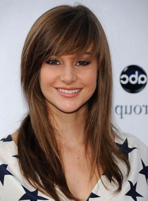 2014 Long Hairstyle With Side Swept Bangs – Pretty Designs Throughout Long Hairstyles Side Swept Bangs (View 3 of 15)