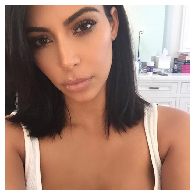 2015 Hairstyles To Try: The Long Bob Or Lob Intended For Long Bob Hairstyles Kim Kardashian (View 8 of 15)