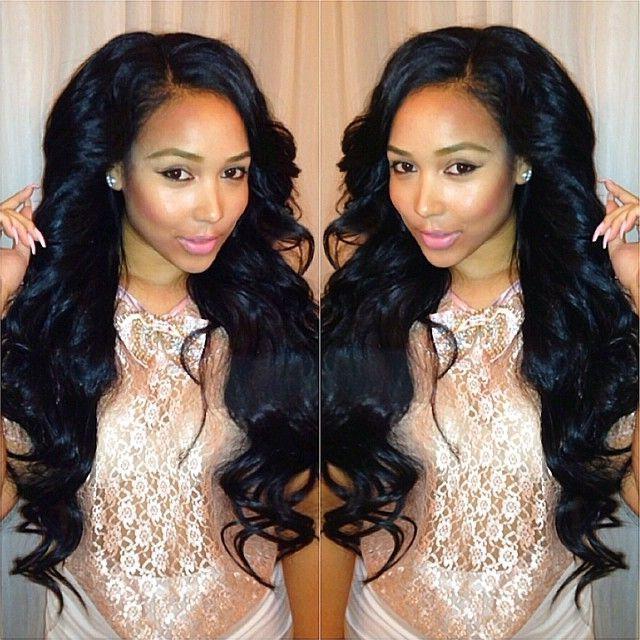 209 Best Hair On Fleek Images On Pinterest | Hairstyles, Braids Pertaining To Long Virgin Hairstyles (View 2 of 15)
