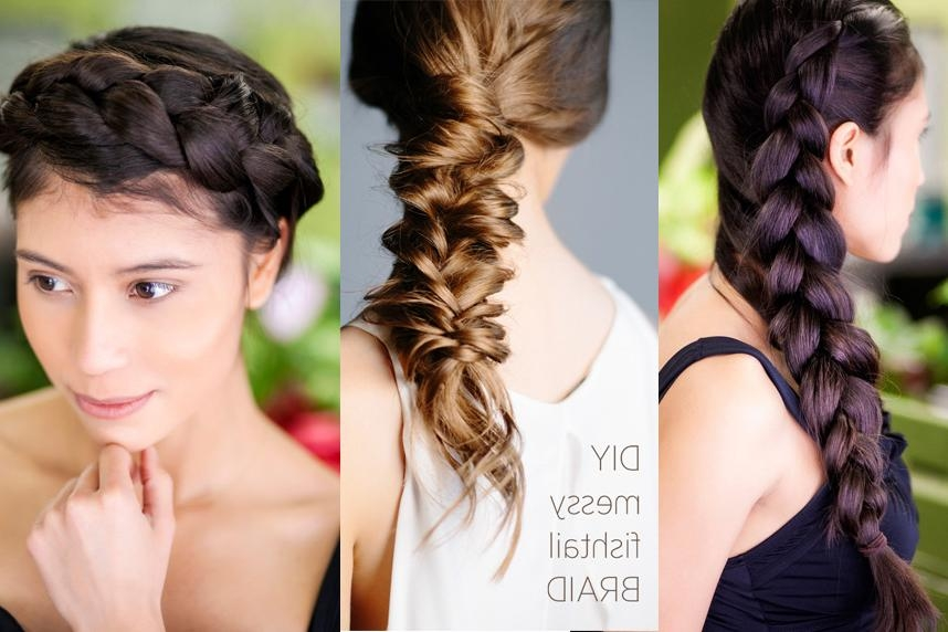 21 Braids For Long Hair That You'll Love! For Long Hairstyles Plaits (View 3 of 15)