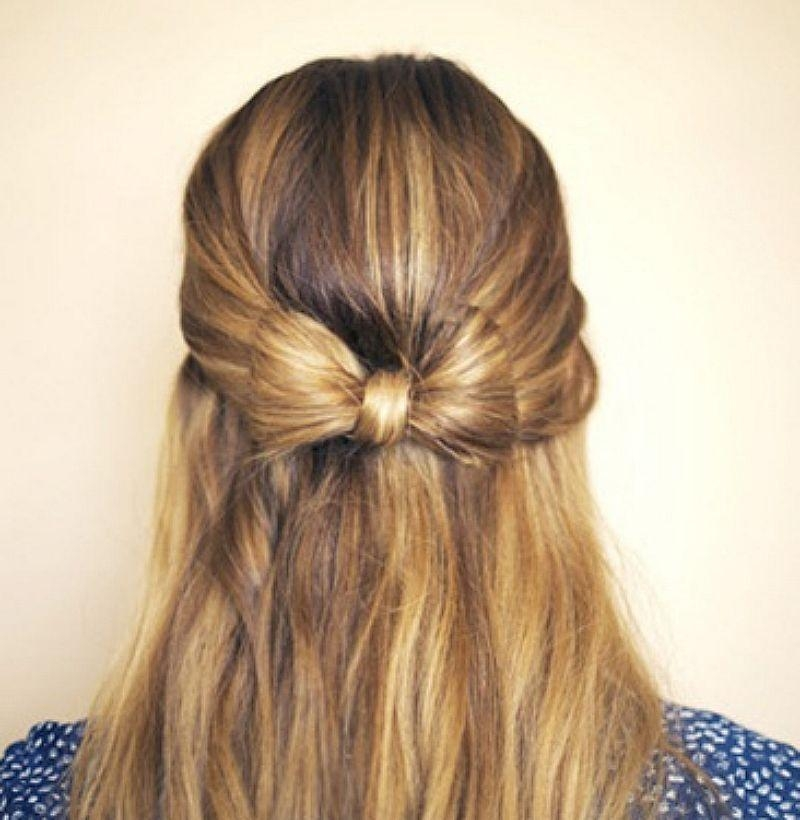 21 Gorgeous Half Up, Half Down Hairstyles | Babble Intended For Long Hairstyles Half Up Half Down (View 2 of 15)