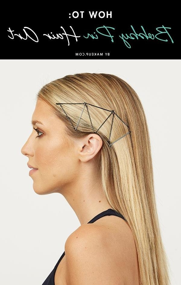 213 Best 09造型設計 Bobby Pin髮夾 Images On Pinterest | Hairstyles Inside Long Hairstyles Using Bobby Pins (View 9 of 15)