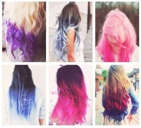 224 Best Who Does Your Hair?!?! Images On Pinterest | Hairstyles With Regard To Long Hairstyles Dyed (View 2 of 15)