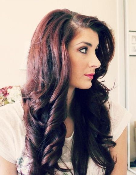 Photo Gallery of Long Hairstyles Using Rollers Viewing 13 of 15 Photos