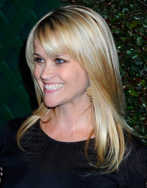 Photo Gallery of Long Hairstyles Reese Witherspoon ...