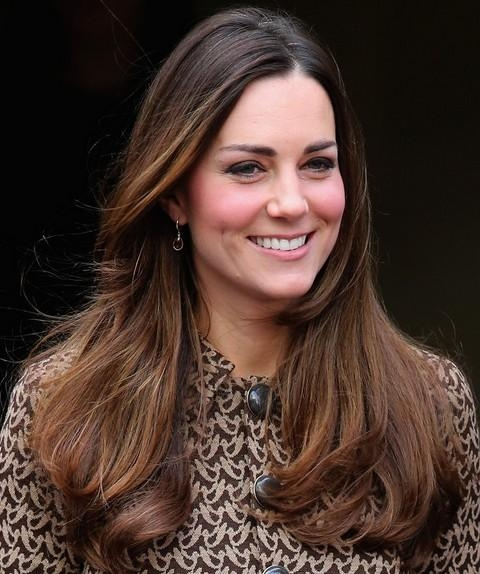 23Kate Middleton Hairstyles – Pretty Designs For Long Hairstyles Kate Middleton (View 1 of 15)