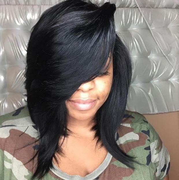 247 Best Bob Hairstyles Images On Pinterest | Natural Hairstyles With Regard To Long Bob Quick Hairstyles (View 14 of 15)