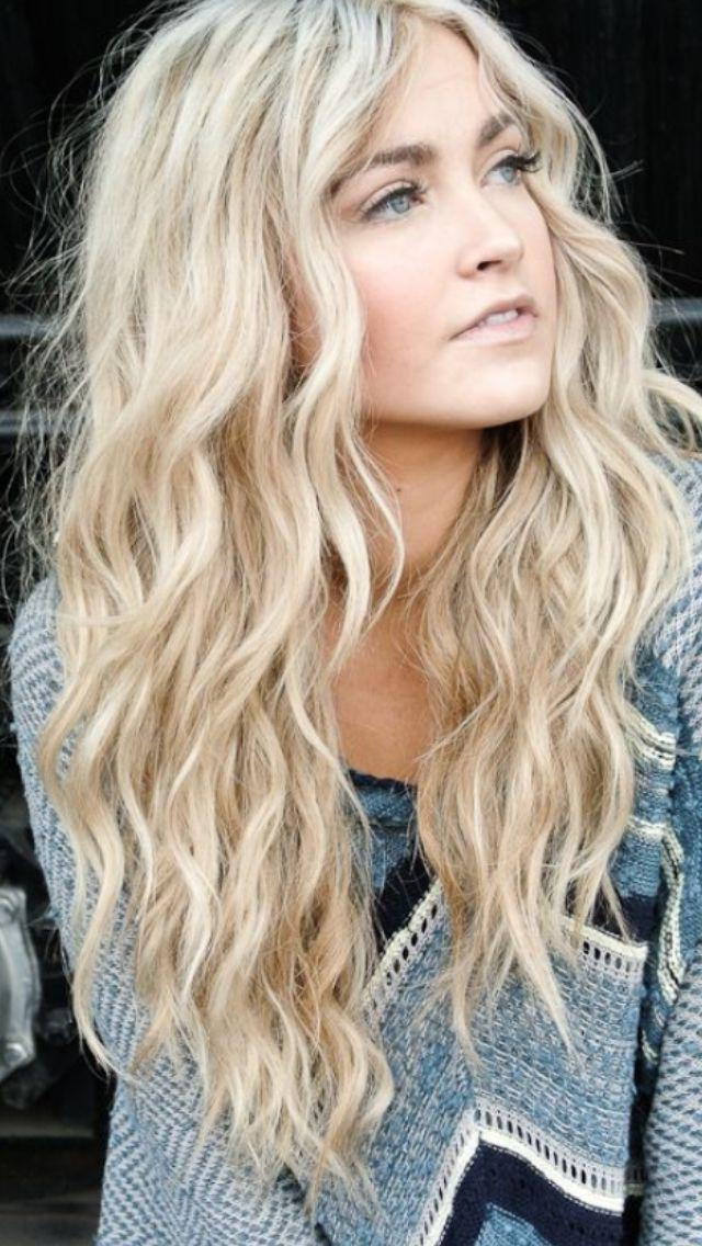 25+ Best Blonde Hair Ideas On Pinterest | Blond Hair Colors Within Long Blonde Hair Colors (View 1 of 15)