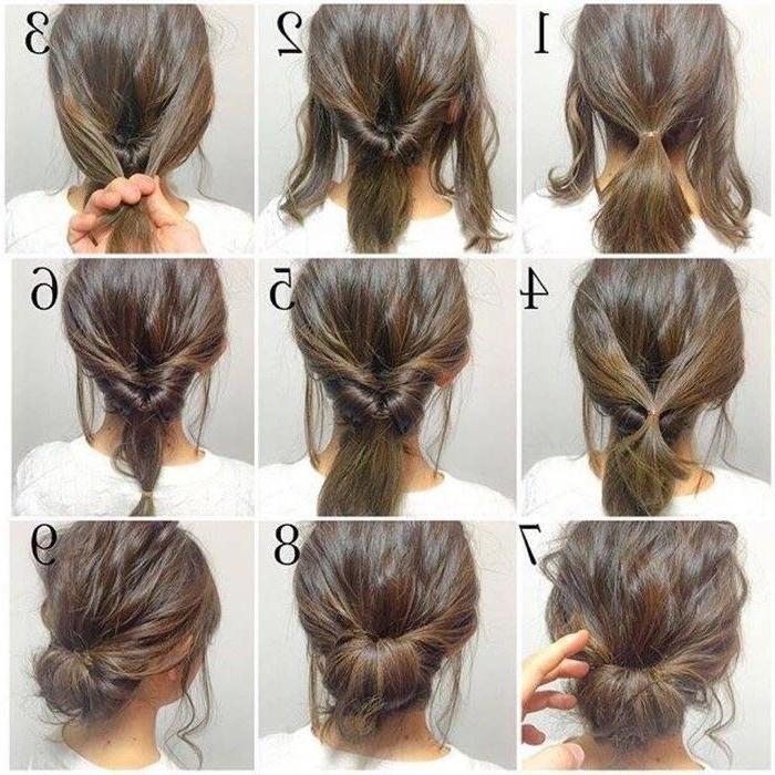 Photo Gallery of Long Hairstyles Easy Updos (Viewing 8 of 15 Photos)