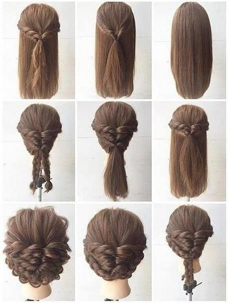 25+ Best Long Hair Updos Ideas On Pinterest | Updo For Long Hair Inside Long Hairstyles Put Hair Up (View 1 of 15)