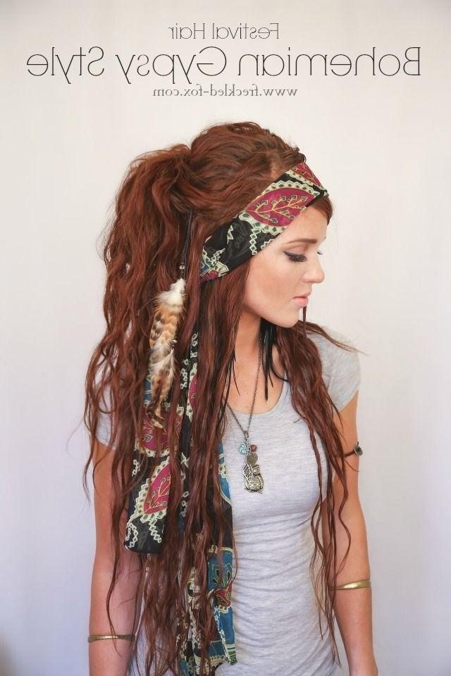 25 Best Long Hairstyles For 2017: Half Ups & Upstyles Plus Daring Throughout Long Hairstyles In  (View 3 of 15)