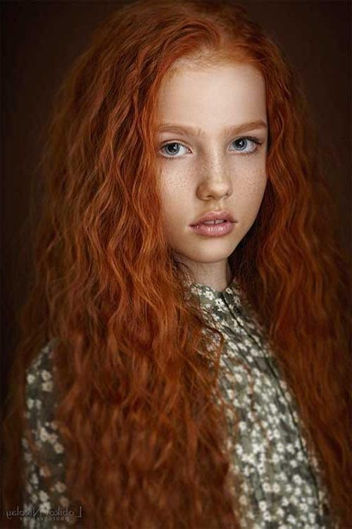 2018 Popular Long Hairstyles Redheads