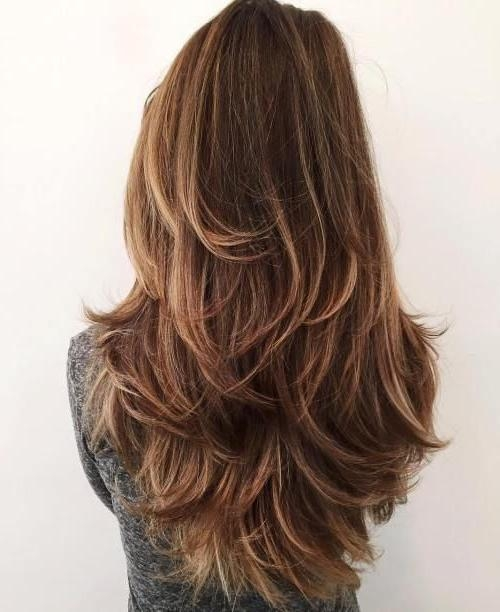 25+ Best Thick Coarse Hair Ideas On Pinterest | Choppy Layered Throughout Hairstyles For Long Thick Coarse Hair (View 4 of 15)