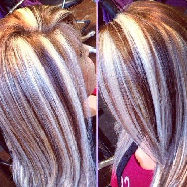25+ Best Thick Highlights Ideas On Pinterest | Thick Blonde With Long Hairstyles Highlights And Lowlights (View 12 of 15)