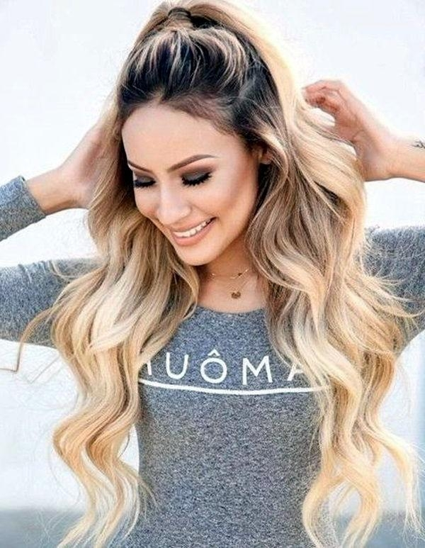 25+ Best Thick Long Hair Ideas On Pinterest | Long Hair With Inside Long Hairstyles Dos (View 1 of 15)