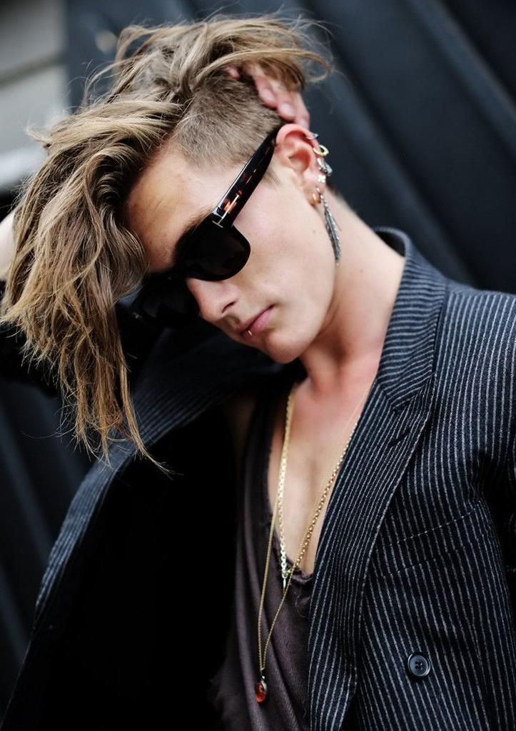 25+ Best Undercut Long Hair Male Ideas On Pinterest | Long Pertaining To Long Hairstyles Undercut (View 4 of 15)