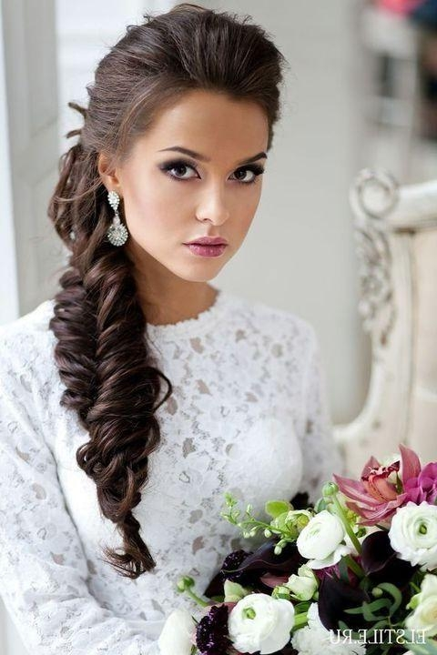 25+ Best Wedding Hairstyles Side Ideas On Pinterest | Hairstyles In Long Hairstyles To The Side (View 4 of 15)