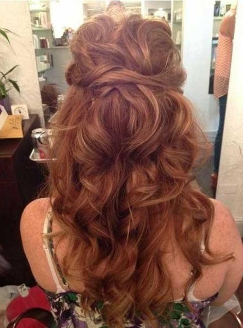 25+ Bridesmaids Hairstyles For Long Hair | Long Hairstyles 2016 – 2017 Throughout Long Hairstyles Bridesmaid (View 9 of 15)