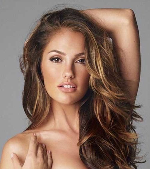 25+ Highlight Brown Hair | Long Hairstyles 2017 & Long Haircuts 2017 Intended For Long Hairstyles Brown With Highlights (View 13 of 15)