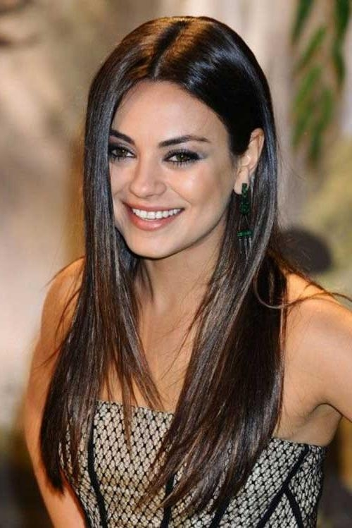 25+ Long Dark Brown Hairstyles | Hairstyles & Haircuts 2016 – 2017 Pertaining To Long Hairstyles Dark Hair (View 5 of 15)