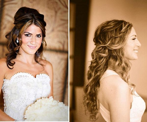 25 Phenomenal Wedding Hairstyles Down – Slodive Inside Long Hairstyles Down For Wedding (View 13 of 15)