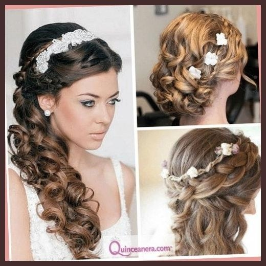 25 Quinceanera Hairstyles For Girls | Hairstylo In Long Curly Quinceanera Hairstyles (View 4 of 15)