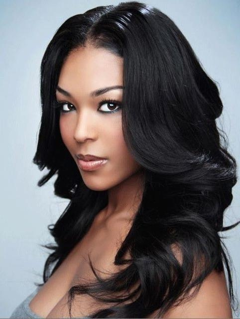 26 Wonderful Long Hairstyles For Black Women Regarding Long Hairstyles Black (View 5 of 15)