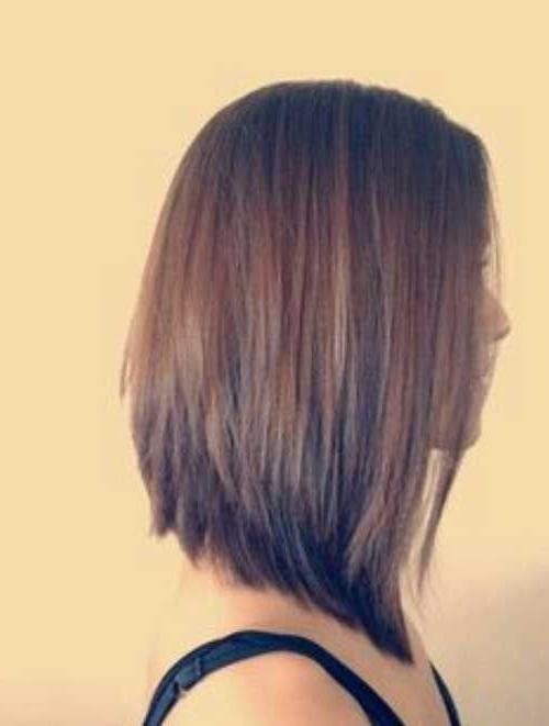 27 Beautiful Long Bob Hairstyles: Shoulder Length Hair Cuts With Long Bob Hairstyles (View 4 of 15)