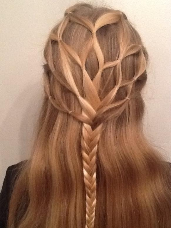 27 Cute Hairstyles For Girls – Popular Haircuts With Regard To Cute Braided Hairstyles For Long Hair (View 2 of 15)