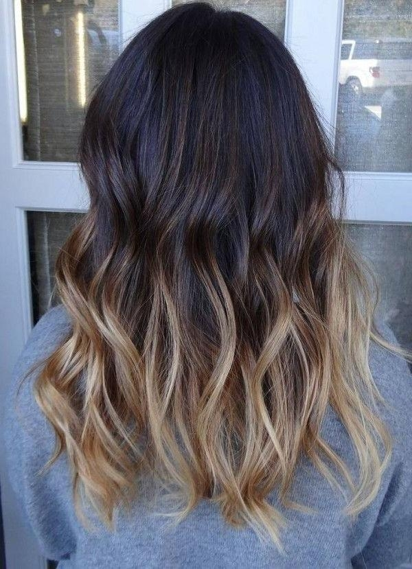 27 Exciting Hair Colour Ideas 2017: Radical Root Colours & Cool For Long Hairstyles And Colours (View 3 of 15)
