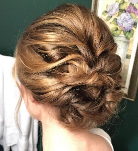 27 Trendy Updos For Medium Length Hair: Updo Hairstyle Ideas For 2017 For Medium Long Hair Updos (View 5 of 15)