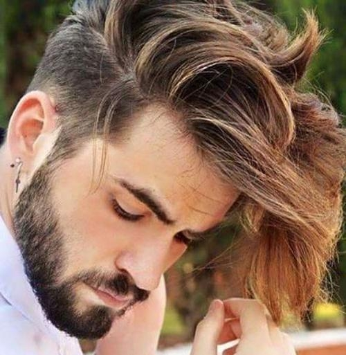 27 Undercut Hairstyles For Men | Men's Hairstyles + Haircuts 2017 Within Long Hairstyles Undercut (View 6 of 15)