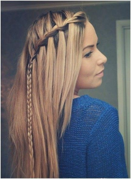 272 Best Half Up/half Down/with Braids Images On Pinterest With Regard To Long Hairstyles Down Straight (View 14 of 15)