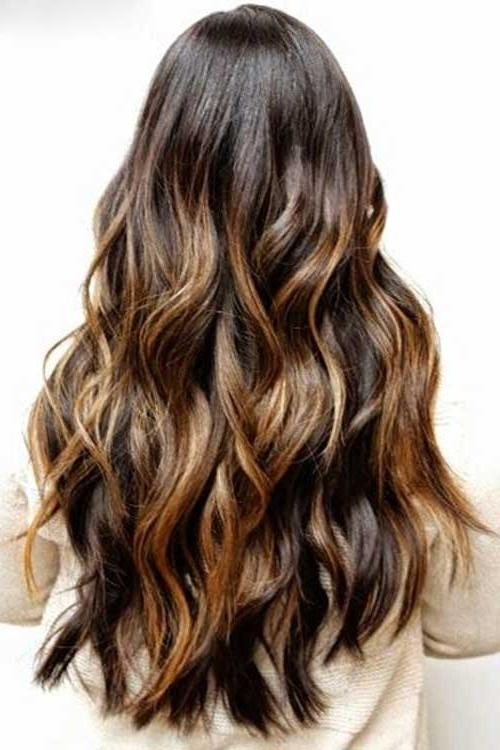 28 Long Hair Highlights Ideas, Inspiring Ideas For Long Hair With Inside Long Hairstyles Highlights (View 14 of 15)