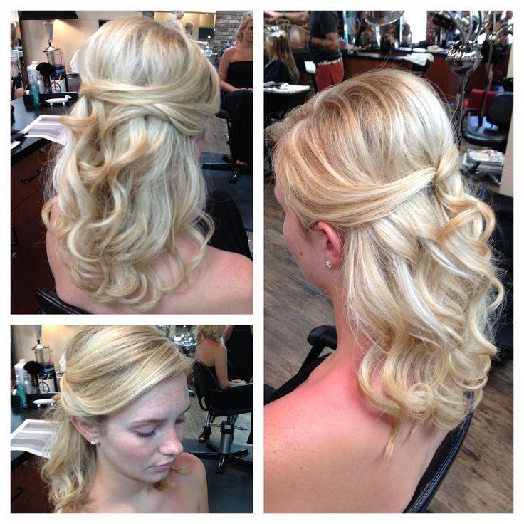 28 Najlepších Obrázkov Na Nástenke Wedding Hair Updo's Na Pintereste In Long Hairstyles Half Pulled Back (View 2 of 15)
