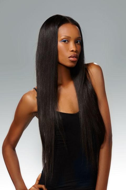 29 Black Hairstyles – Best African American Hairstyles & Haircuts For Long Hairstyles Ebony (View 3 of 15)