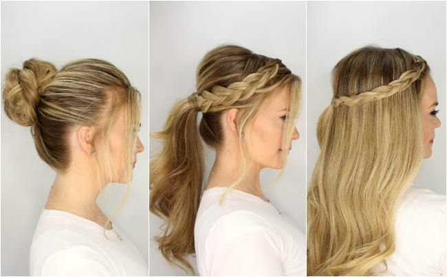 3 Easy Summer Hairstyles Pertaining To Long Easy Hairstyles Summer (View 6 of 15)