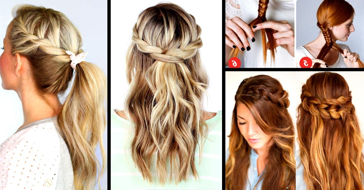30+ Cute And Easy Braid Tutorials That Are Perfect For Any Throughout Cute Braiding Hairstyles For Long Hair (View 7 of 15)