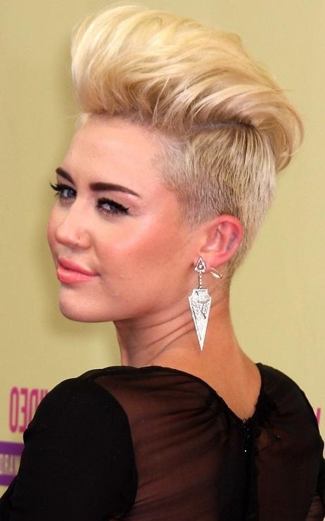 30 Fabulous Quiff Hairstyle – Wodip With Womens Long Quiff Hairstyles (View 4 of 15)
