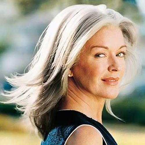 30+ Hairstyles For Women Over 50 | Long Hairstyles 2016 – 2017 Inside Long Hairstyles For Women Over (View 11 of 15)