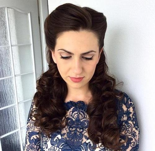 30 Iconic Retro And Vintage Hairstyles Intended For Long Hair Vintage Styles (Gallery 7 of 15)