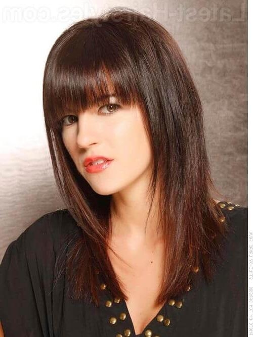 30 Seriously Chic Medium Shag Hairstyles Inside Shaggy Layered Long Hairstyles (View 6 of 15)