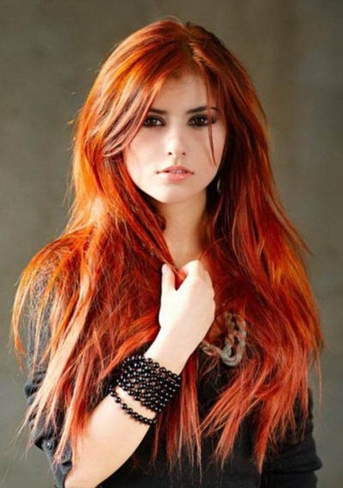 30 Versatile Long Hairstyles For Women Within Long Hairstyles Red Hair (View 3 of 15)