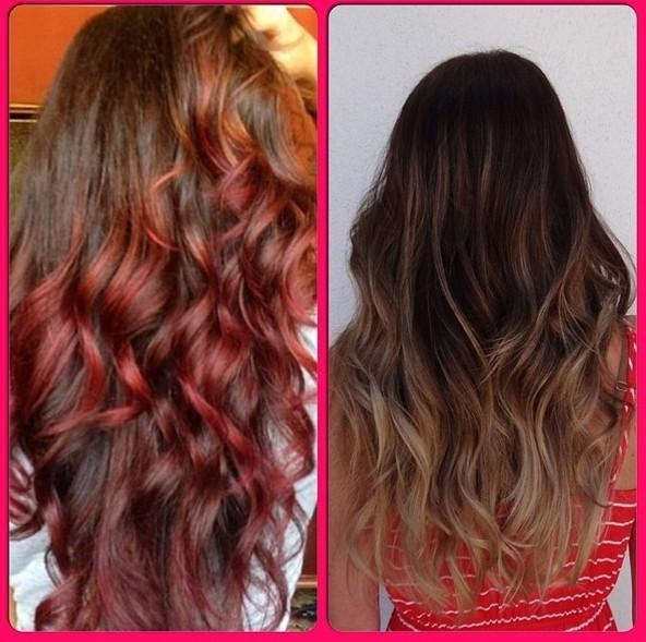 30+ Ways To Add Funky Colors To Your Hair – Pretty Designs Within Long Hairstyles Colours (View 9 of 15)