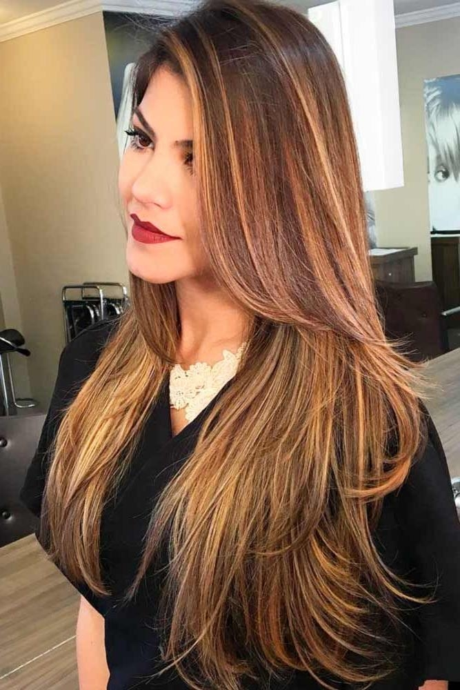 307 Best Layered Haircuts Images On Pinterest | Hairstyles With Long Hairstyles No Layers (View 2 of 15)