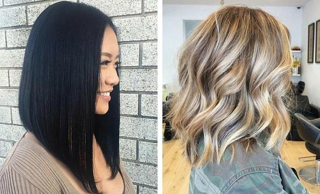 31 Gorgeous Long Bob Hairstyles | Stayglam Inside Long Bob Hairstyles (View 8 of 15)